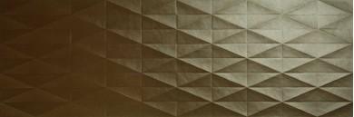 Стенни плочки Eclettica Bronze Stuttura Diamond 3D 40x120