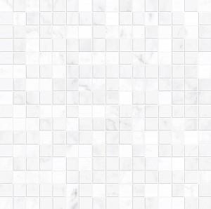 Декор Allmarble Wall Altissimo Mosaico Lux 40x40