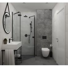 Плочки за баня Kent Firle Gris decor 25х75