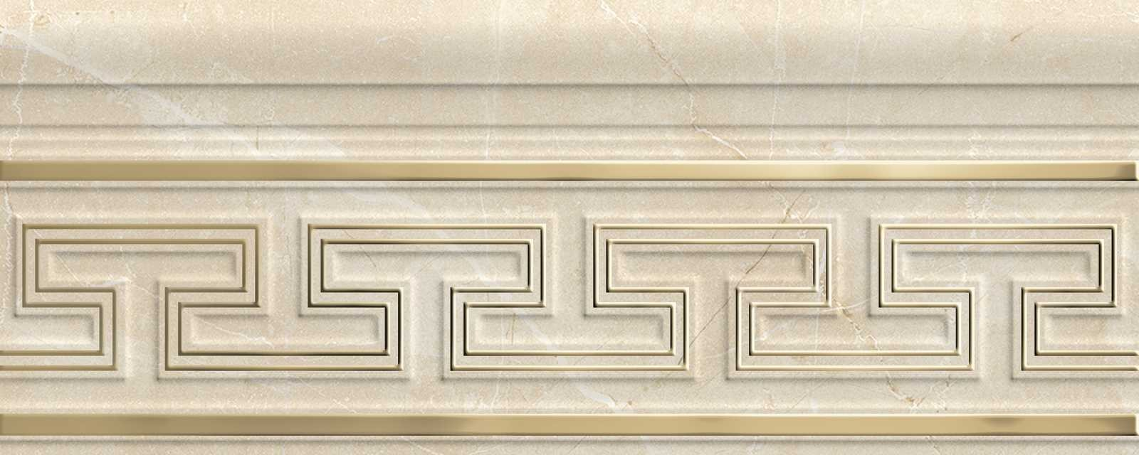 Декор Marbleplay Listello Classic Marfil 12x30