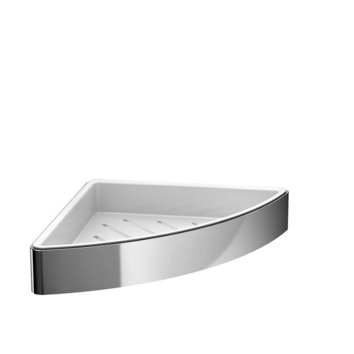 Аксесоари за баня хром: ъглова поставка LOFT - хром