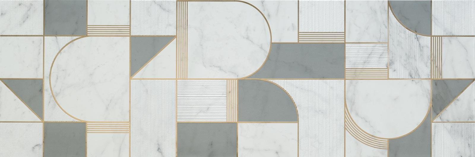 Декор Allmarble Wall Altissimo Decoro Club Satin 40x120