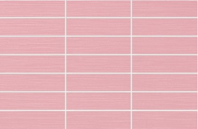 Стенни плочки Fresh Rosa каре 25x38