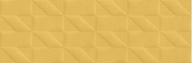 Стенни плочки Outfit Ocher Struttura Tetris 3D 25x76