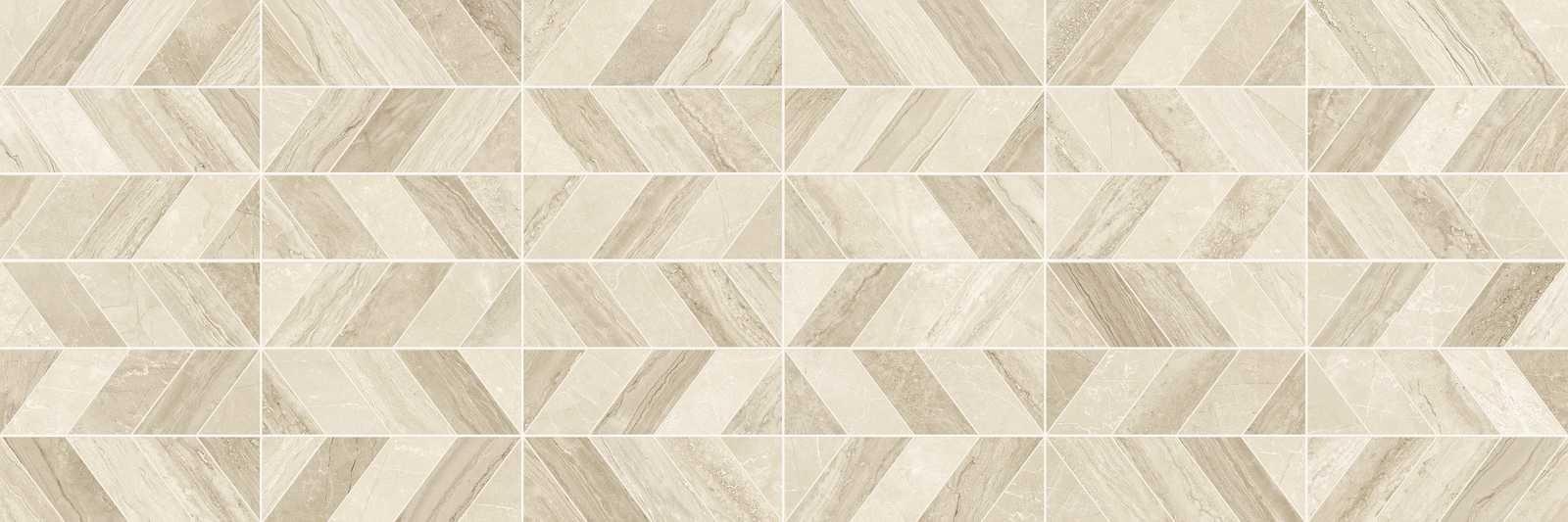 Декор Marbleplay Decoro Naos Travertino/Marfil 30x90