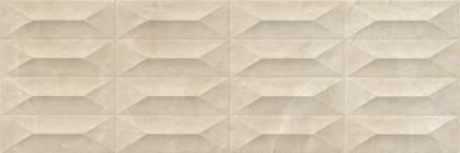 Стенни плочки Marbleplay Marfil Struttura Gem 3D 30x90