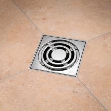 Точков подов сифон за баня с мембрана против миризми ТЕСЕ