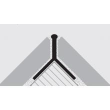 PROGRESS PKLLAA125 профил за плочки на герунг 45°