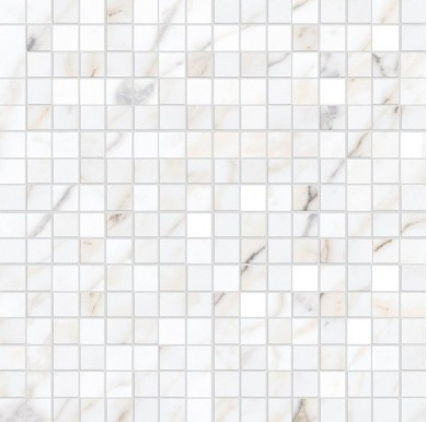 Декор Allmarble Wall Golden White Mosaico Satin 40x40