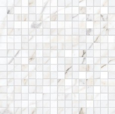 Декор Allmarble Wall Golden White Mosaico Satin 40x40
