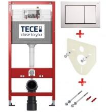 Промоционален комплект структура TECE за вграждане 4 в 1, модел BASE хром