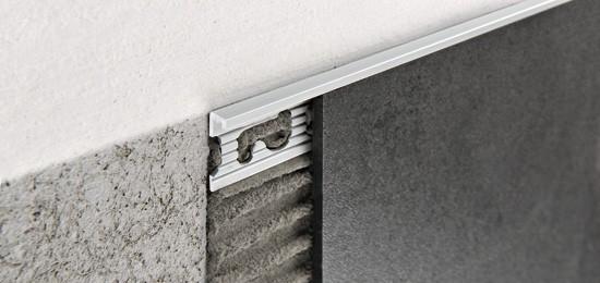 SB15 DUROSOL 15 мм мат, ъглов завършващ профил