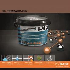 Фугираща смес Nanofug Premium - 56 Terrabraun 5кг