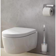 Окачена четка за тоалетна чиния ART - хром