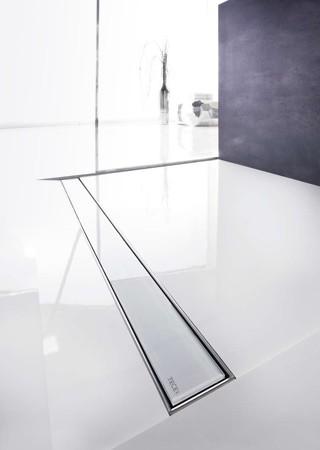 Линеен сифон с решетка GLASS - 1200mm