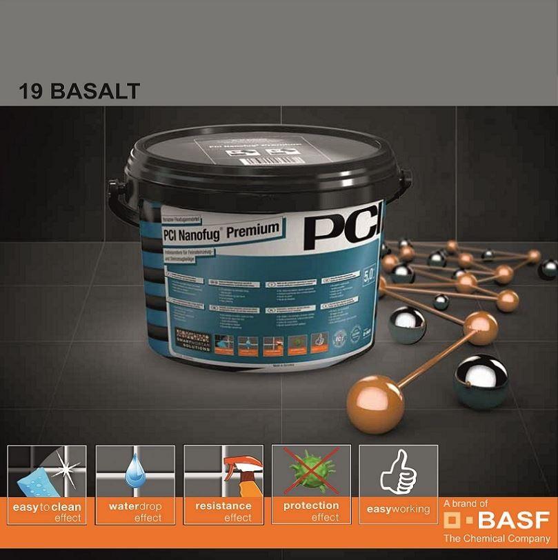 Фугираща смес Nanofug Premium - 19 Basalt  5кг