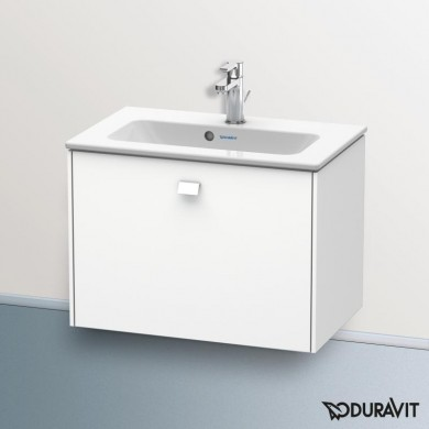 Окачен шкаф 63см с мивка ME by STARK - бял мат