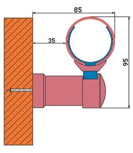 Протектор за стена - парапет WG 50