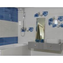 Декор Colourline Decoro White/Blue/Grey