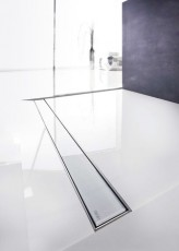Линеен сифон с решетка GLASS - 700mm