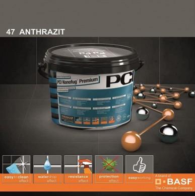 Фугираща смес Nanofug Premium - 47 Antrazit  5кг