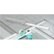 Линеен сифон с решетка NATURAL STONE - 1000mm