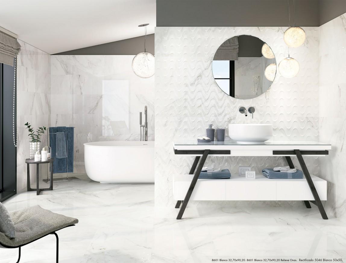 Плочки за баня 8601 Blanco 32,7x90,2