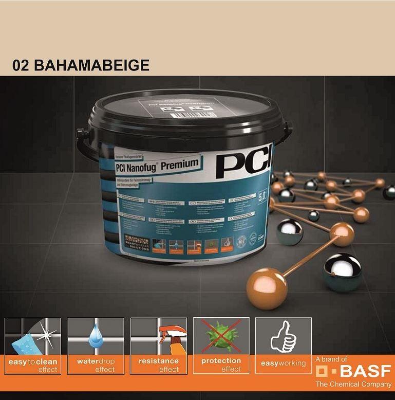 Фугираща смес Nanofug Premium - 02 Bahamabeige  5кг